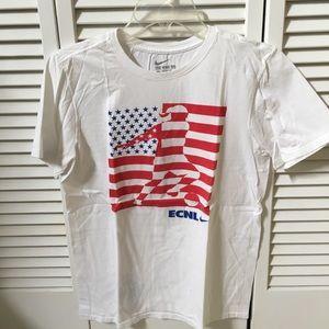 Nike Soccer ECNL American Flag Shirt